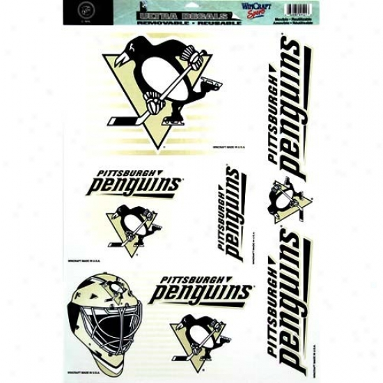 Pittsburgh Penguins 11 X 17 Ultra Decals