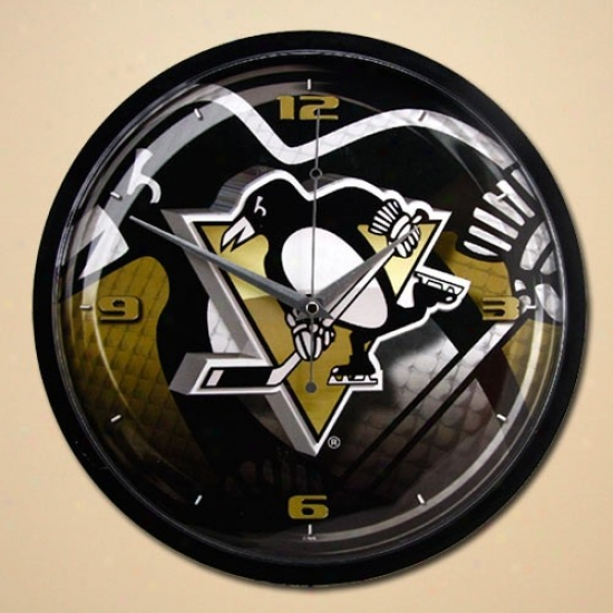 Pittsburgh Penguins 12'' Wall Clock