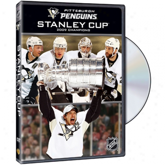 Pittsburgh Penguins 2009 Nhl Stanley Cup Champions Dvd