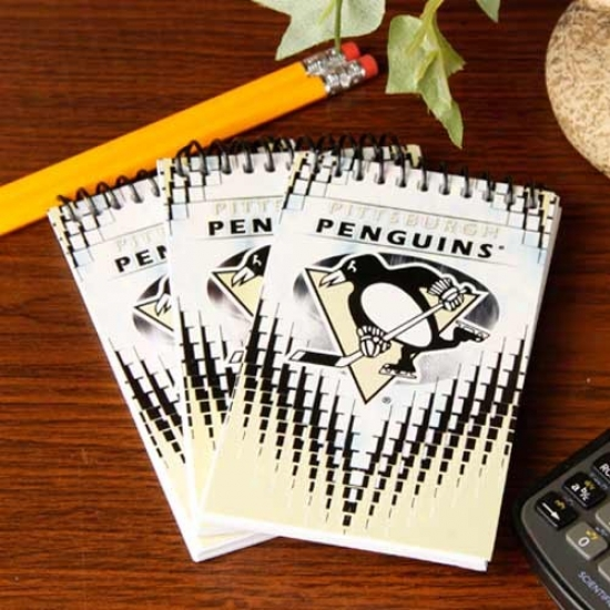 Pittsburgh Penguins 3-pack Team Memo Pads