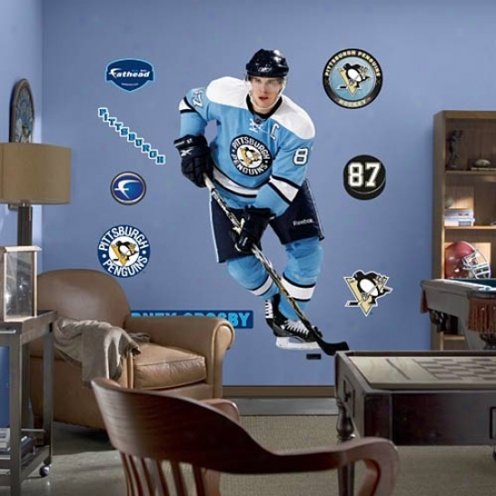 Pittsburgh Penguins #87 Sidney Crosby Player Fathead