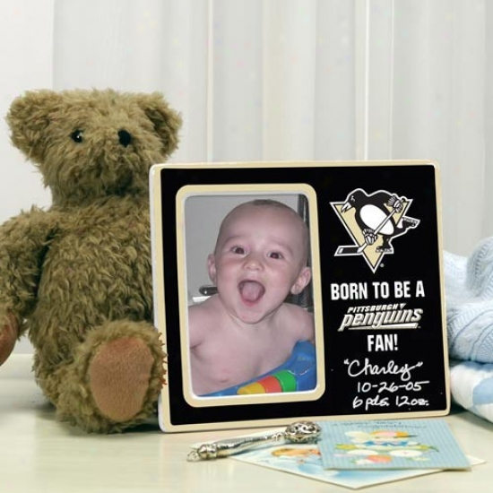 Pittsburgh Penguins Born To Be Picture Frame