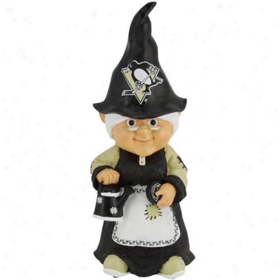 Pittsburgh Penguins Female Garden Gnome