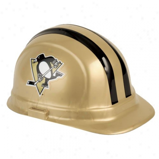 Pittsburgh Penguins Gold Hard Hat