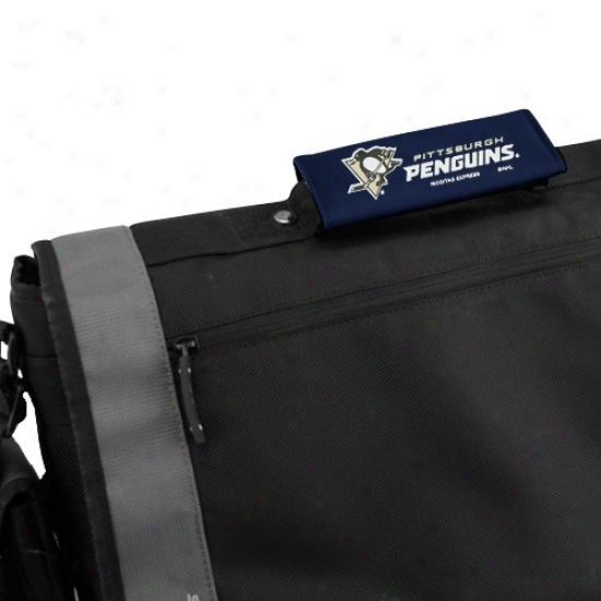 Pittsburgh Penguins Navy Blue 2-pack Luggage Spotters