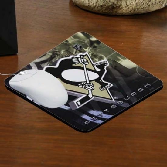 Pittsburgh Penguins Team Logo Neoprene Mousepad