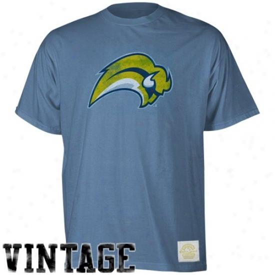 Sabres Apparel: Reebok Sabres Blue Better Logo Vintage Premium T-shirt