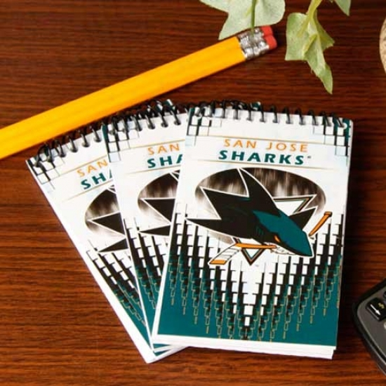 San Jose Sharks 3-pack Team Memo Pads