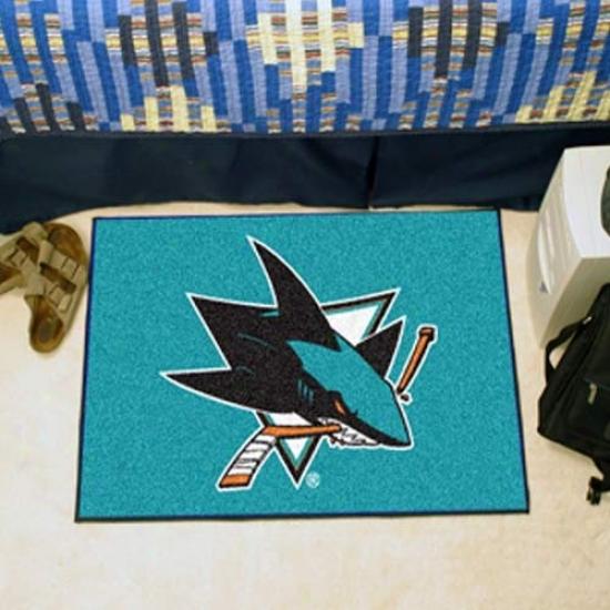 San Jose Sharks Aqua Logo Starter Ma5