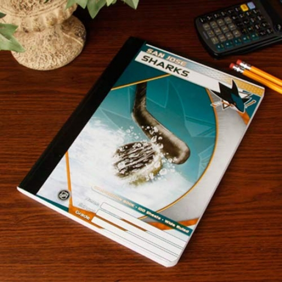 San Jose Sharks Composition Notebook