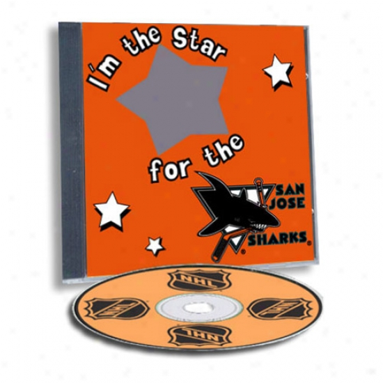 San Jose Sharks Game Hero Custom Sports Cd