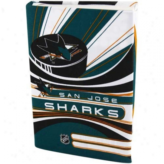 San Jose Sharks Green-white Stretchable Book Cover