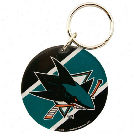 San Jose Sharks High Definition Keychain