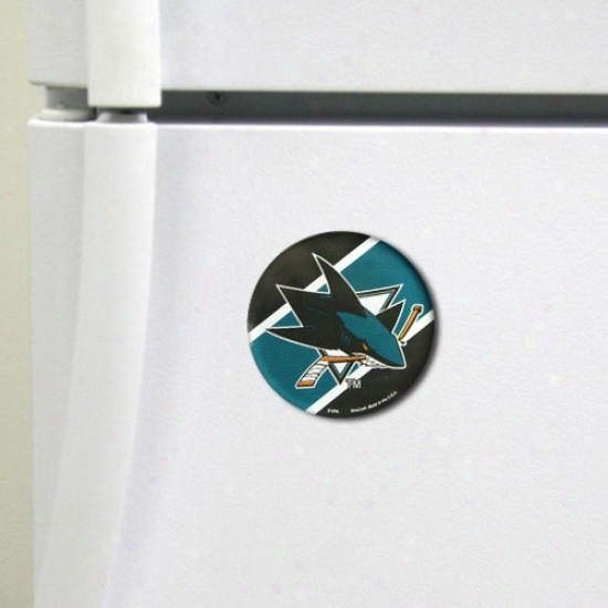 San Jose Sharks High Definition Magnet