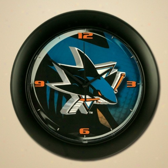 San Jose Shark High Explanation  Wall Clock