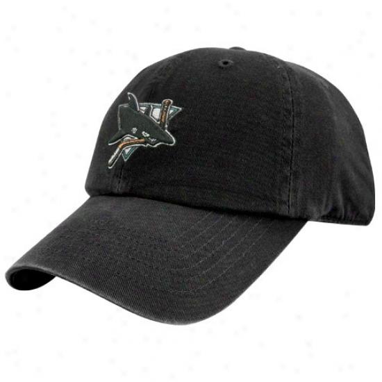 San Jose Sharks Merchandise: Twins Enterprises San Jose Sharks Black Hockey Franchise Fitted Cardinal's office