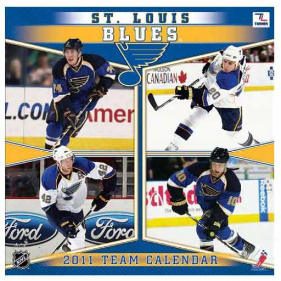 St. Louis Blues 2011 Wall Calendar
