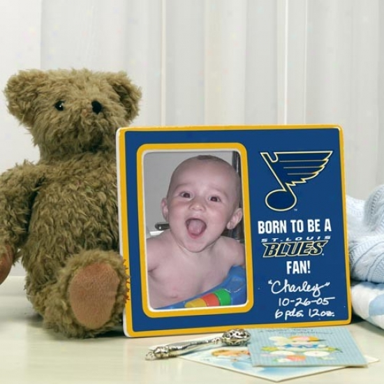 St Louis Blues Born To Be Picture Frame
