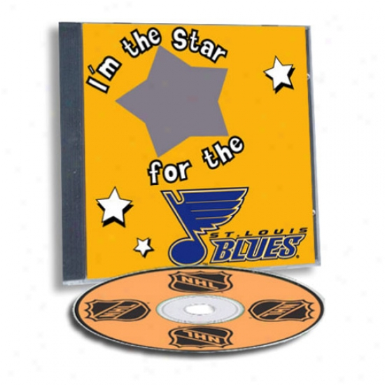 St. Louis Blues Game Hero Form Sports Cd