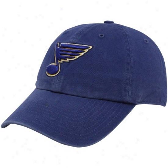 St Louis Blues Gear: Twins '47 St Louis Blues Navy Blue Franchise Fitted Hat