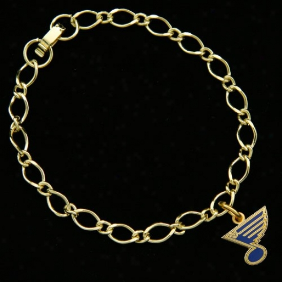 St. Louis Melancholy Ladies Gold-tone Spell Bracelet