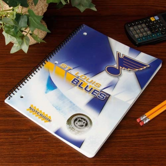 St. Louis Bluse Notebook