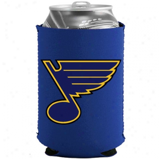 St. Louis Blues Royal Blue Collapsible Can Coolie