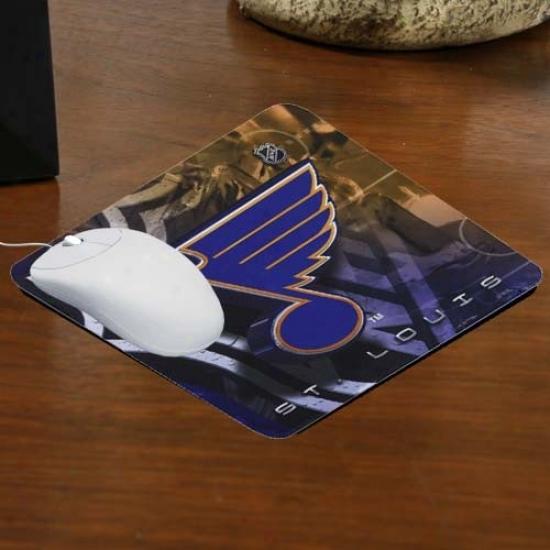 St . Louis Blues Team Loogo Neoprene Mousepad