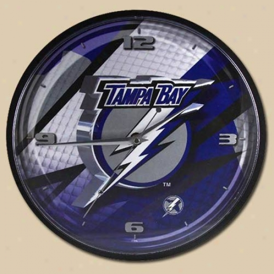 Tampa Bay Lightning 12'' Wall Clock