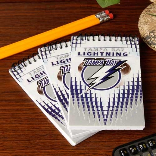 Tampa Bay Lightning 3-pack Team Memo Pads