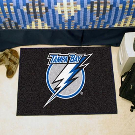 Tampa Bay Lightning Black Starter Mat
