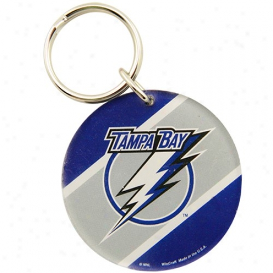 Tampa Bay Lightning High Definition Keychain