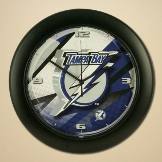 Tampa Bay Lightning High Definition Wall Clock