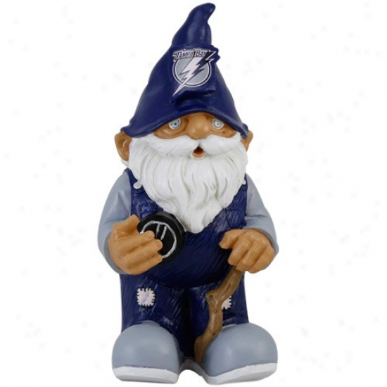 Tampa Bay Lightning Mini Hockey Gnome Figurine