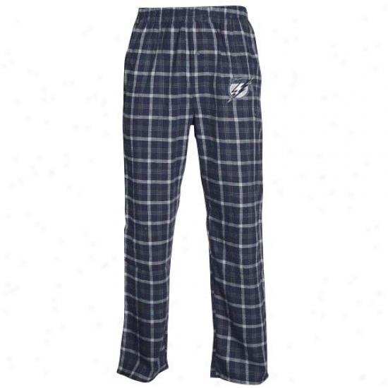 Tampa Bay Lightning Navy Blue Tailgate Pajama Pants