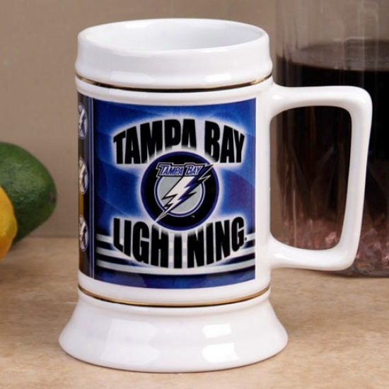Tampa Bay Lightning Slapshot 28oz. Ceramic Stein