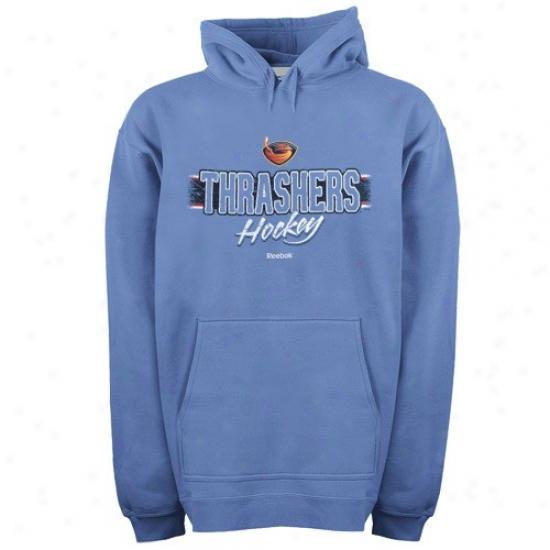 Thrashers Hoodies : Reebok Thrashers Light Blue Allegiance Pullover Hoodies