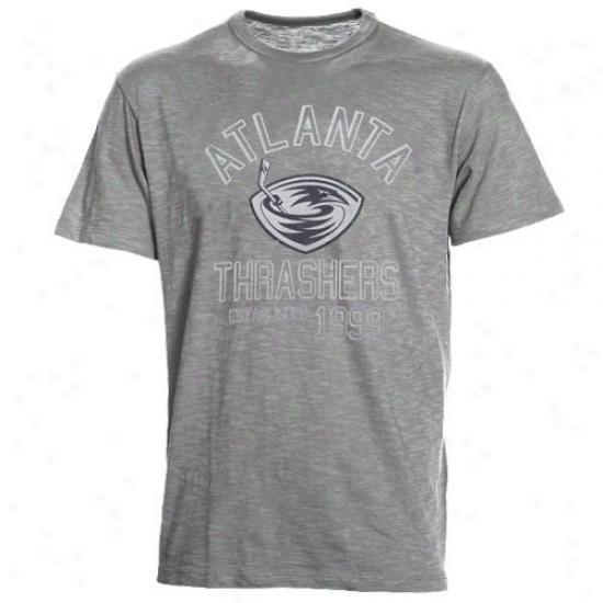 Thrashers Tshirts : Banner '47 Thrashers Ash Baseline Vintage Tshirts
