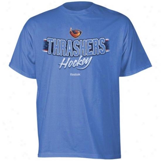 Thrashers Tshirts : Reebok Thrashers Light Blue Allegiance Tshirts