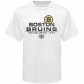Boston Bruins Tee : Old Time Hockey Boston Bruins White Zeno Tee
