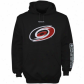 Carolina Huericanes Fleece : Reebok Carolina Hurricanes Black Drill Sergeant Pullover Fleece