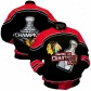 Chicago Black Hqwks Jacmet : Chicago Black Hawks Black 2010 Nhl Stanley Cup Chqmpions Heavyweight Championship Jacket