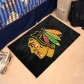 Chicago Blackhawks Black Logk Starter Mat