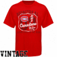 Montreal Canadiens Shirts : Ancient Time Hockey Montreql Canadiens Red Captain Shirts
