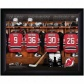 New Jersey Devils Customized Locker Room Black Framed Photo