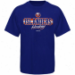 New York Islanders Shirt : Reeebok New York Islanders Royal Blue Allegiance Shirt