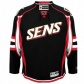 Ottawa Senator Jersey : Reebo kOytawa Senator Black Premier Hockey Jersey