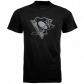 Pittsburgh Penguinw Shirt : August Pittsburgh Penguins Black Slender Fiit Logo Shirt