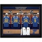 St Louis Blues Customized Locker Room Black Framed Photo