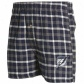 Tampa Bay Lightning Navy Blue Plaid Tailgate Boxer Shorts